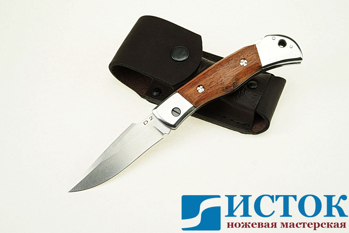 Складной нож из стали D2 A299