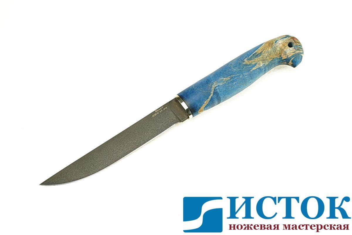 Нож Лесник из булатной стали A301