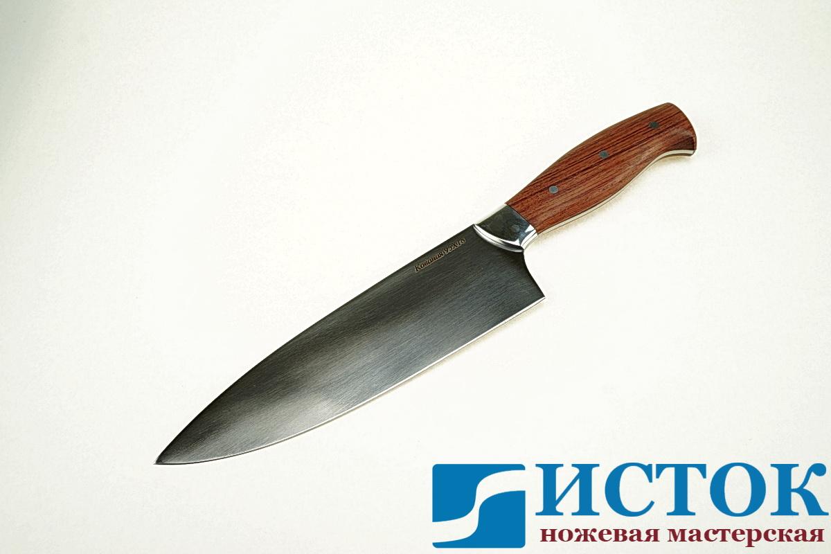 Нож  Шеф-повар большой из кованой стали 95Х18 A309