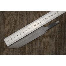Клинок для ножа  из дамасской стали N74