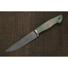 Нож Ладья, сталь дамаск A279