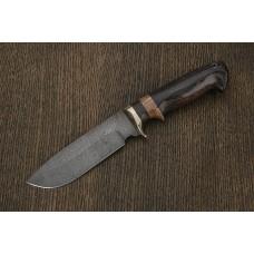 Нож Охотник из дамасской стали A282