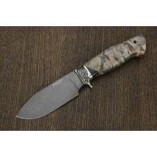 Нож Буйвол из дамасской стали A285