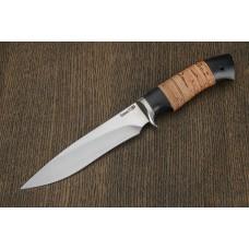 Нож охотничий из кованой стали Х12МФ A287