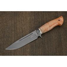 Нож Беркут из булатной стали A284