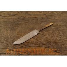 Клинок для ножа из дамасской стали N1