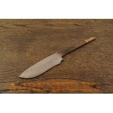 Клинок для ножа из дамасской стали N3