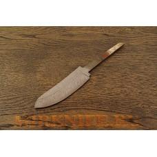 Клинок для ножа из дамасской стали N6