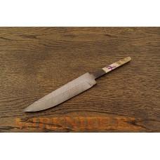 Клинок для ножа из дамасской стали N7
