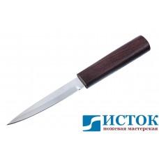 Нож Перо из кованой Х12МФ в деревянных ножнах из венге A174