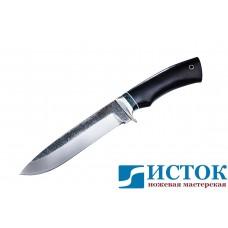 Нож Адмирал из кованой 110Х18 c рукоятью из граба A186
