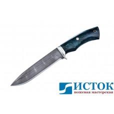 Нож Адмирал из дамасской стали A192