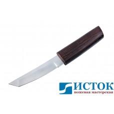 Нож самурай 2 из кованой Х12МФ в деревянных ножнах A218