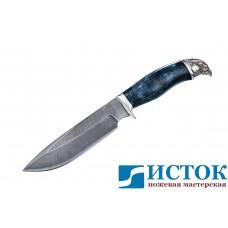 Нож Сокол из дамасской стали A225