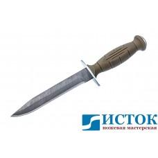 Нож Вишня из дамасской стали с разборной рукоятью A251