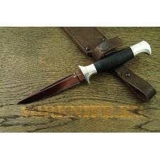 Нож Финка НКВД из кованой стали  У-10 A060