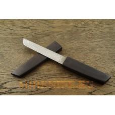 Нож Самурай 2 из дамасской стали в деревянных ножнах A076