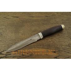 Нож Даггер из дамасской стали A077