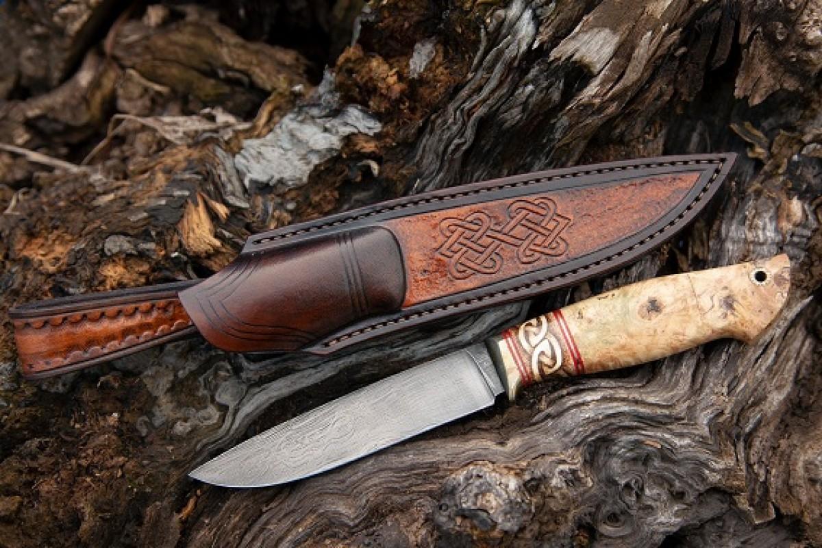 Нож Ладья из Булатной стали