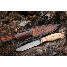 Нож Ладья из Булатной стали Аносова А310