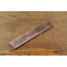 Заготовка для ножа из стали D2, размеры 200х40х4мм.
